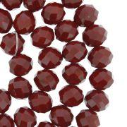 Fio de Cristal - Flat® - Vermelho Escuro - 10mm