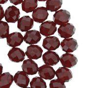 Fio de Cristal - Flat® - Vermelho Transparente - 10mm