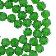 Fio de Cristal - Premium® - Verde Escuro Transparente - 8mm
