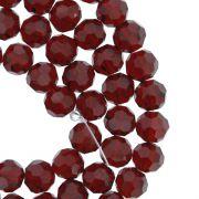 Fio de Cristal - Premium® - Vermelho Transparente - 8mm