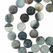 Fio de Pedra - Ágata Botswana - 8mm