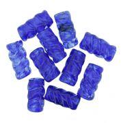 Firma Frisada - Azul Royal Transparente