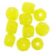 Firmas Strass - Amarela Transparente