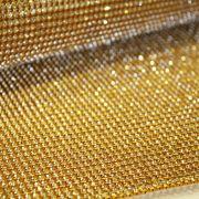 Manta de Strass - Dourada - 30x45cm