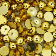Meia Pérola - Dourada - 8mm