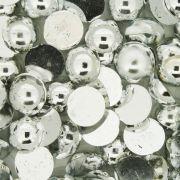 Meia Pérola - Prateada - 10mm