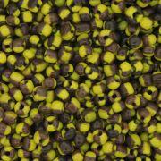 Miçanga - Amarela e Marrom 6/0 [4x3mm]