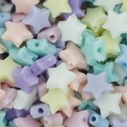 Miçanga Colorida Infantil - Estrela Candy