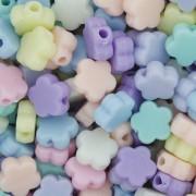 Miçanga Colorida Infantil - Flor Candy