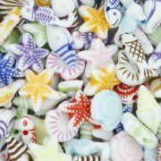 Miçanga Colorida / Infantil - Fundo do Mar