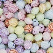 Miçanga Colorida / Infantil - Rosa
