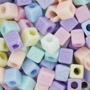 Miçanga - Letras Cubo Candy