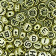 Miçanga - Letras Disco Dourada