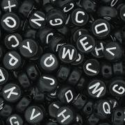 Miçanga - Letras Disco Preta e Branca