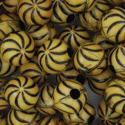 Miçanga Pesca - Catavento Amarela e Preta