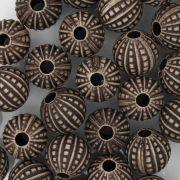 Miçanga Pesca - Pontilhada Chocolate