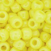 Miçangão Plástico - Tererê® - Amarelo Neon