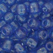 Miçangão Plástico - Tererê® - Azul Transparente