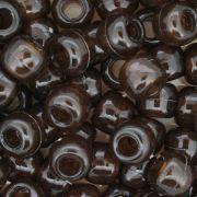 Miçangão Plástico - Tererê® - Marrom Transparente