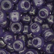Miçangão Plástico - Tererê® - Roxo Transparente