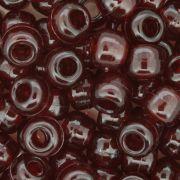 Miçangão Plástico - Tererê® - Vermelho Transparente