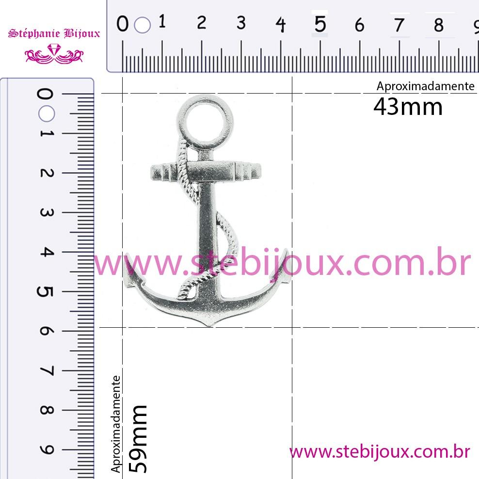 Âncora - Ouro Velho - 59mm  - Stéphanie Bijoux® - Peças para Bijuterias e Artesanato