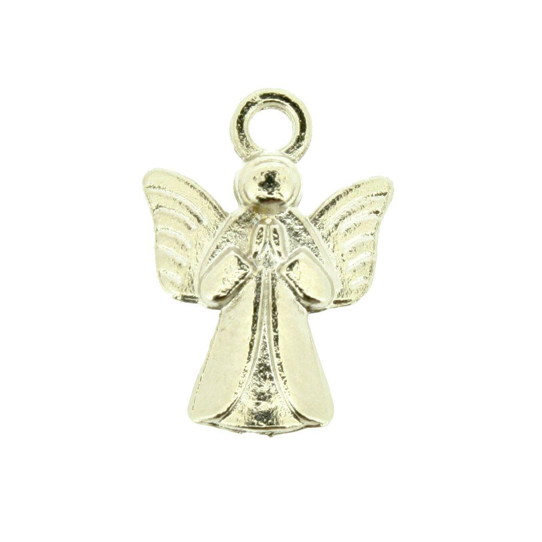 Anjo da Guarda - Níquel - 19mm  - Stéphanie Bijoux® - Peças para Bijuterias e Artesanato