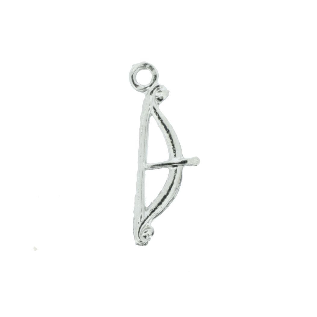 Arco e Flecha - Níquel - 25mm  - Stéphanie Bijoux® - Peças para Bijuterias e Artesanato