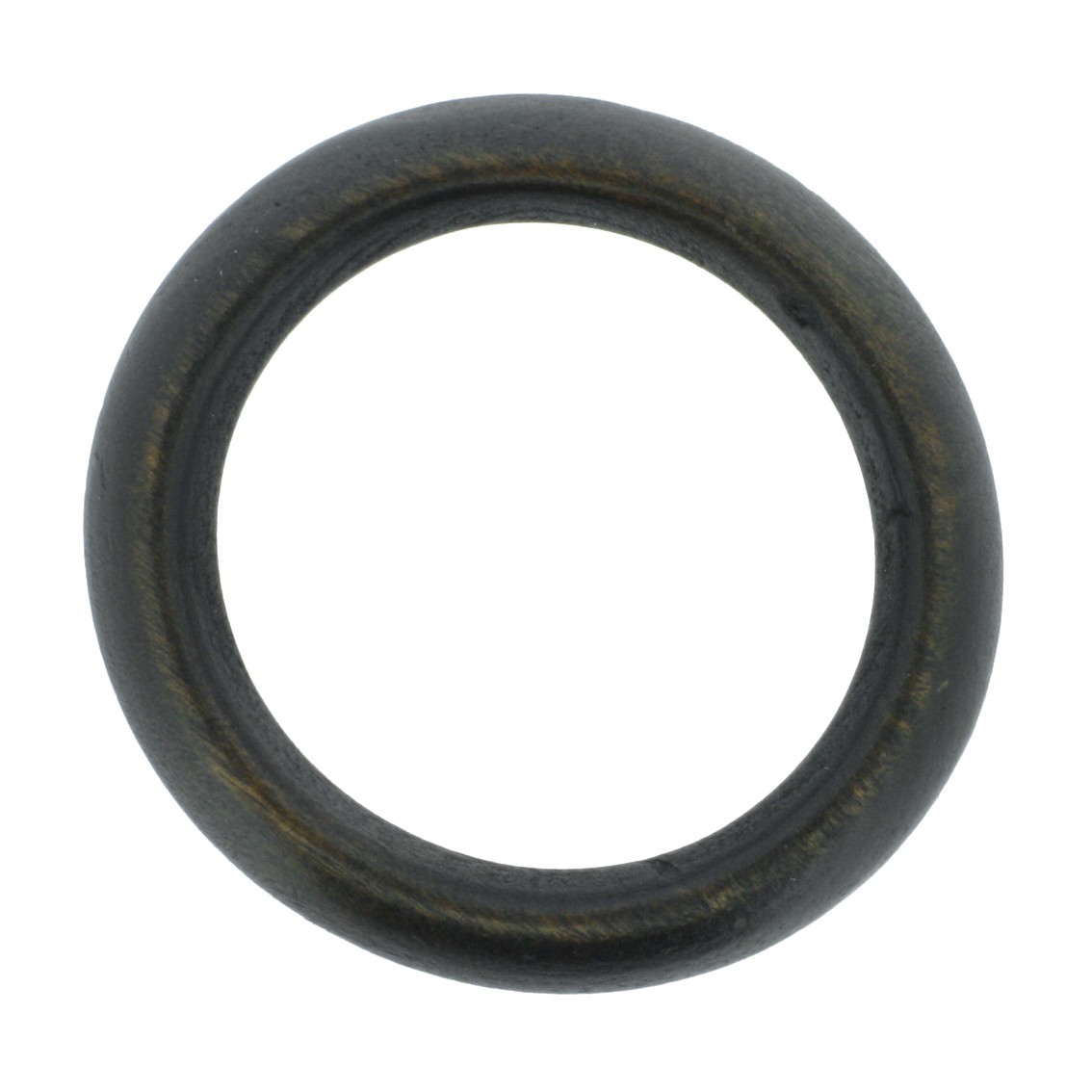 Argola de Madeira - 68mm - Imbuia  - Stéphanie Bijoux® - Peças para Bijuterias e Artesanato