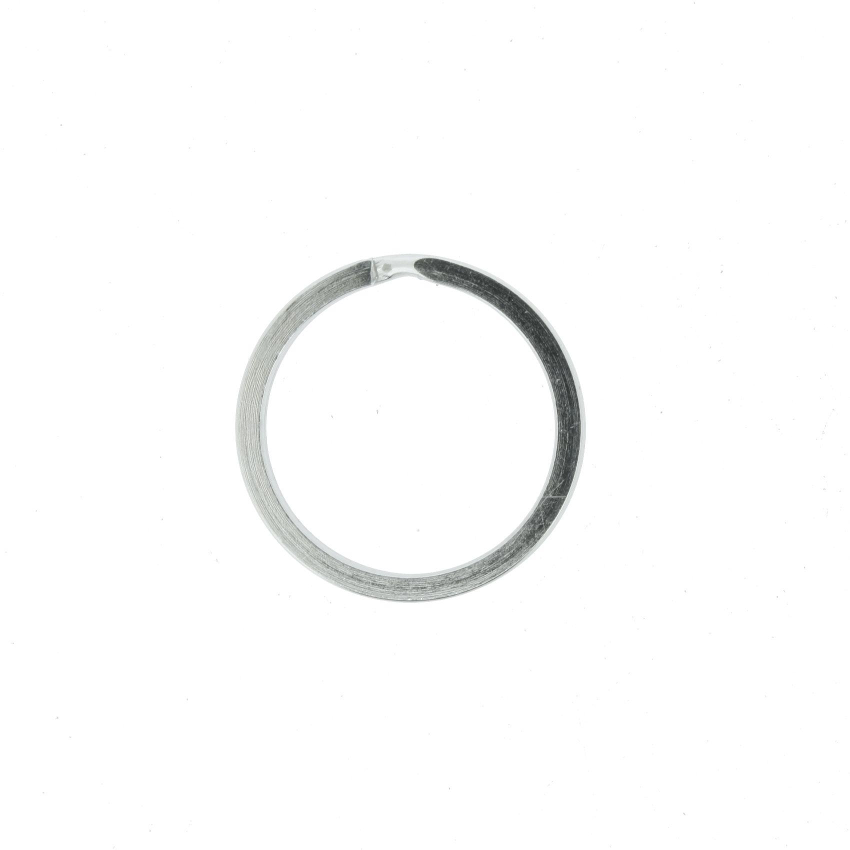 Argola p/ Chaveiro Italiana - Reforçada Níquel - 20mm  - Stéphanie Bijoux® - Peças para Bijuterias e Artesanato