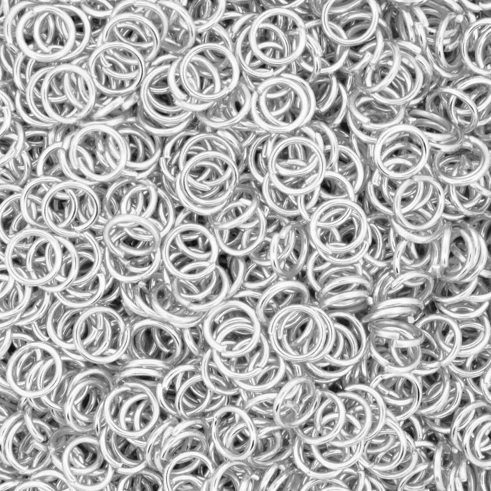 Argola p/ Montagem - Níquel - 5mm  - Stéphanie Bijoux® - Peças para Bijuterias e Artesanato