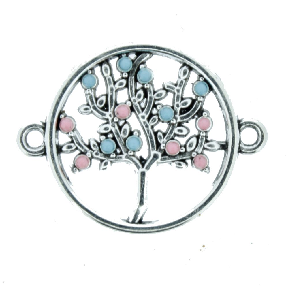 Árvore da Vida - Níquel - 20mm  - Stéphanie Bijoux® - Peças para Bijuterias e Artesanato