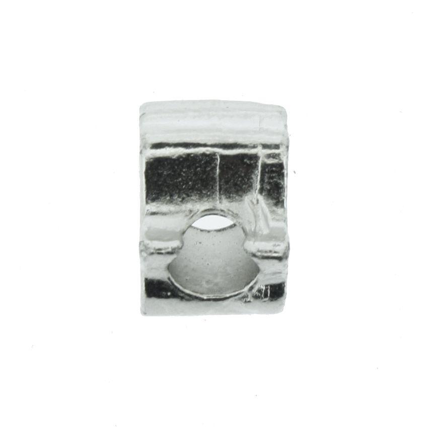 Berloque - Mão de Fátima - Níquel  - Stéphanie Bijoux® - Peças para Bijuterias e Artesanato