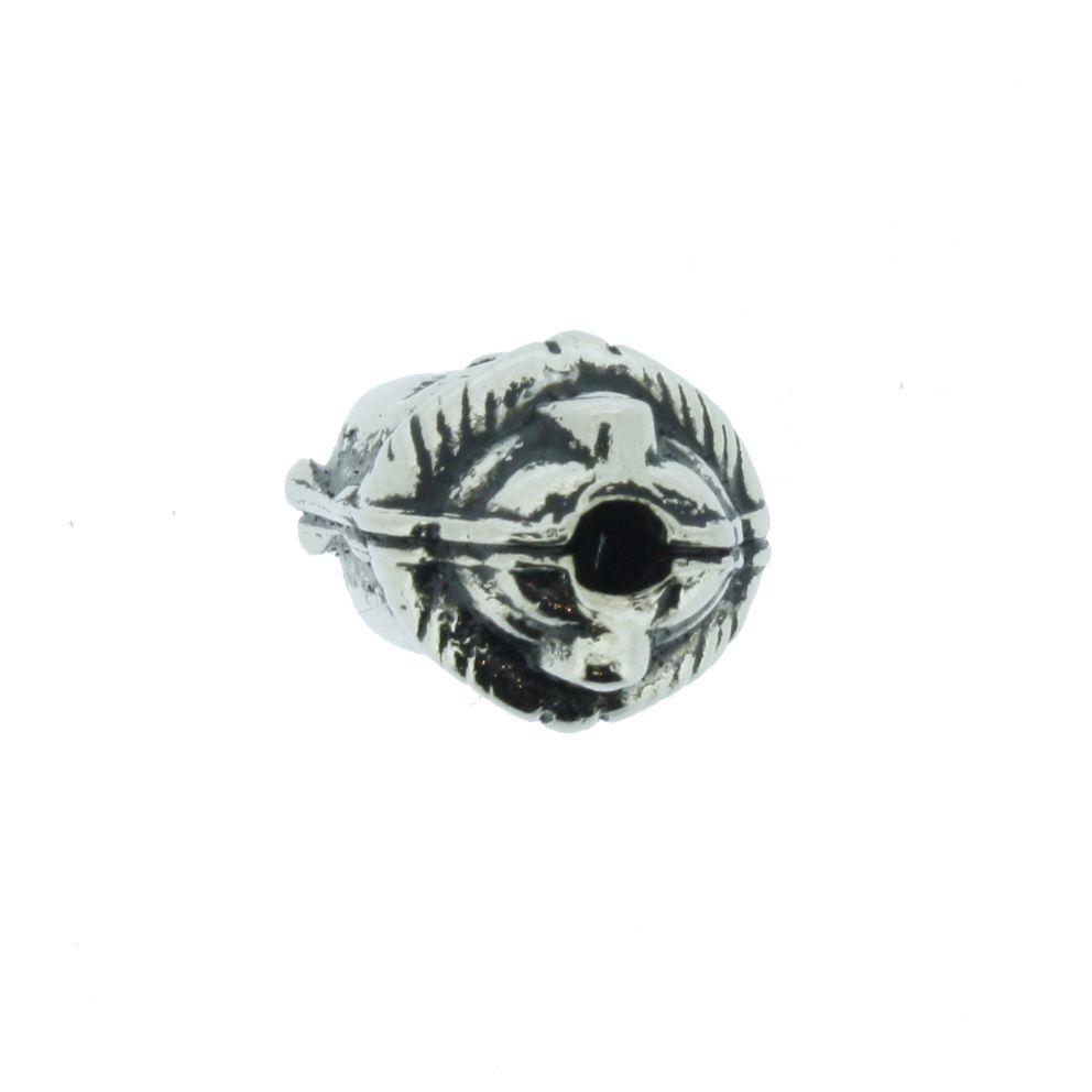 Buda - Preto Níquel - 13mm  - Stéphanie Bijoux® - Peças para Bijuterias e Artesanato
