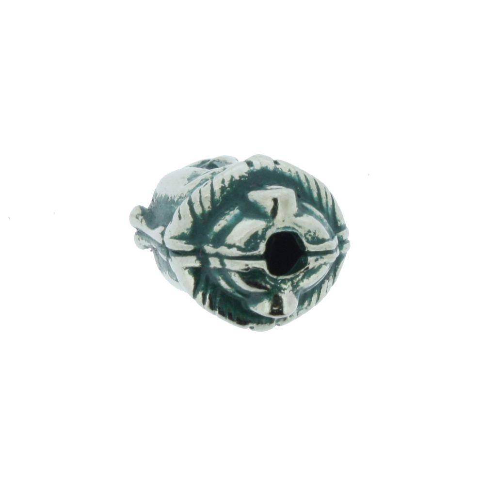 Buda - Verde Níquel - 13mm  - Stéphanie Bijoux® - Peças para Bijuterias e Artesanato