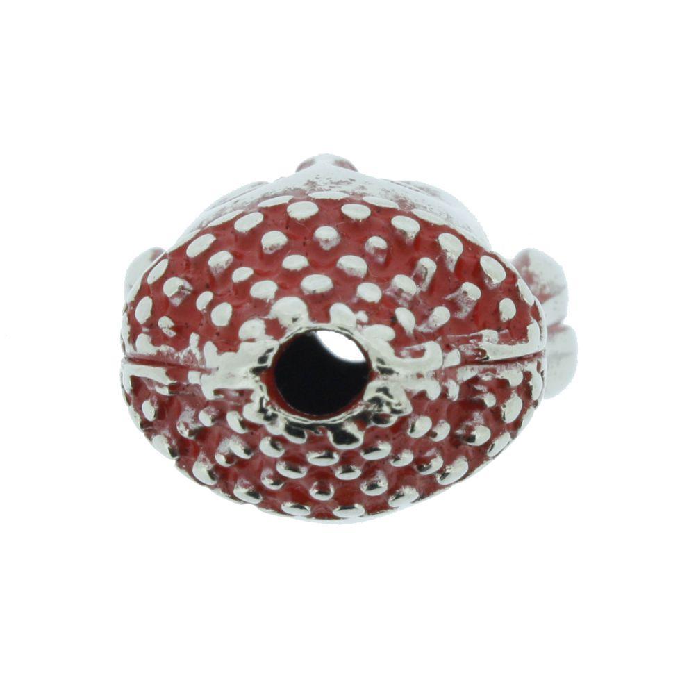 Buda - Vermelho Níquel - 23mm  - Stéphanie Bijoux® - Peças para Bijuterias e Artesanato