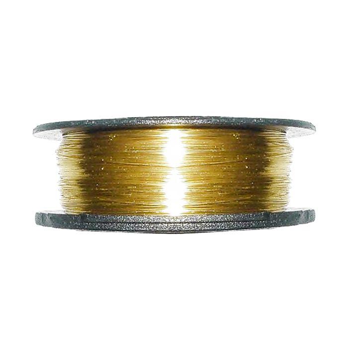 Cabelo de Anjo - CopperWire® - Dourado - 0,025mm  - Stéphanie Bijoux® - Peças para Bijuterias e Artesanato