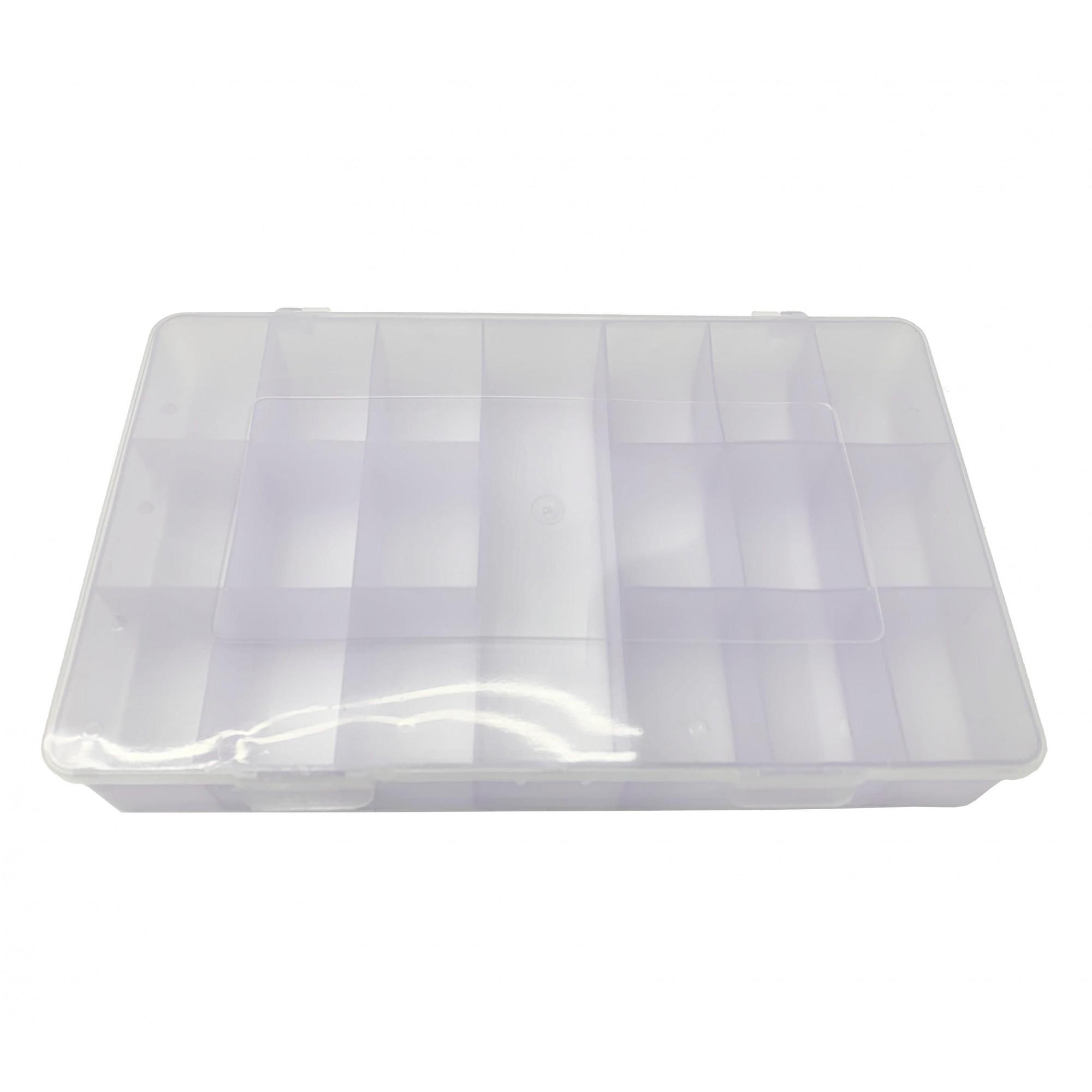 Caixa Organizadora - Lilás - 30cm  - Stéphanie Bijoux® - Peças para Bijuterias e Artesanato