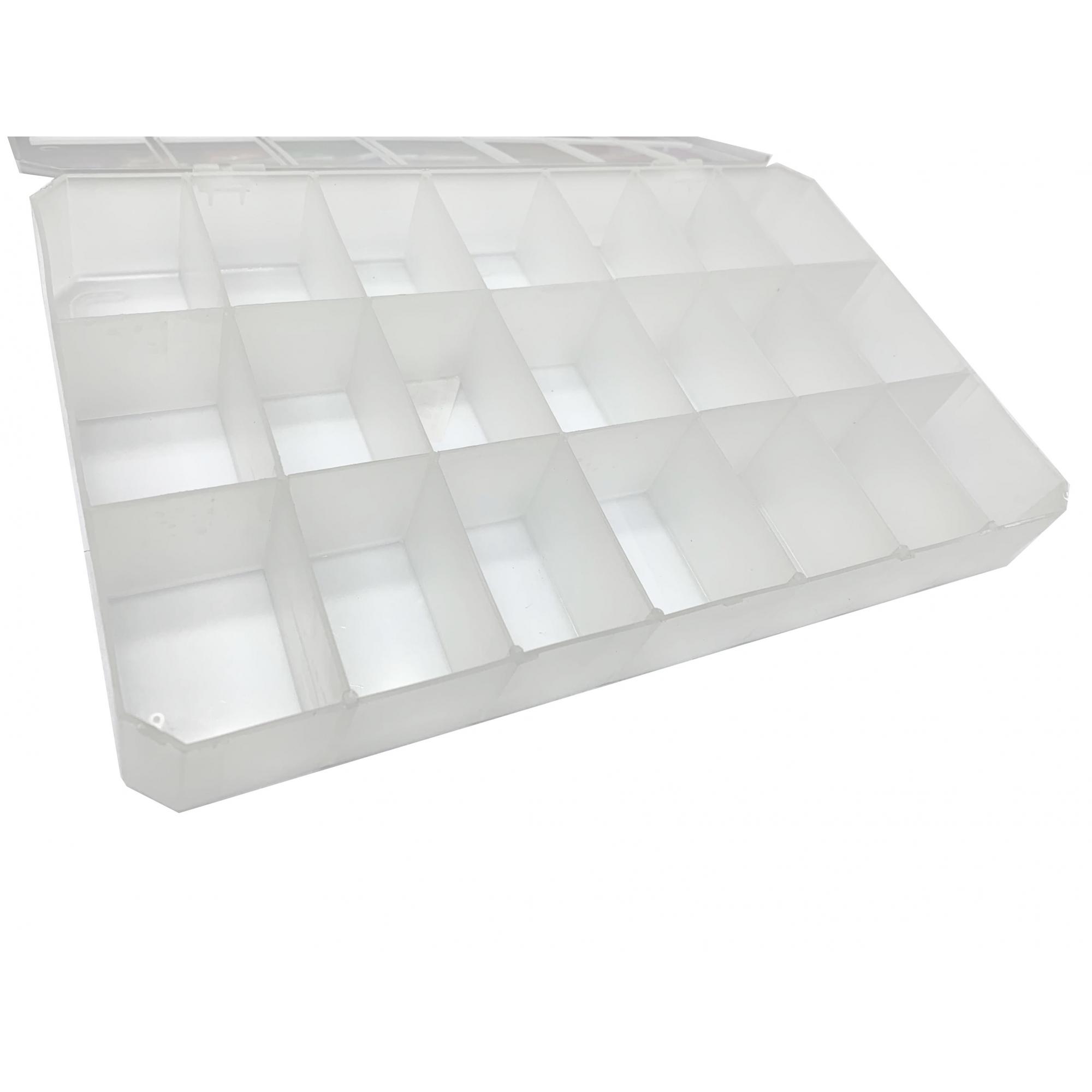 Caixa Organizadora - Transparente  - Stéphanie Bijoux® - Peças para Bijuterias e Artesanato