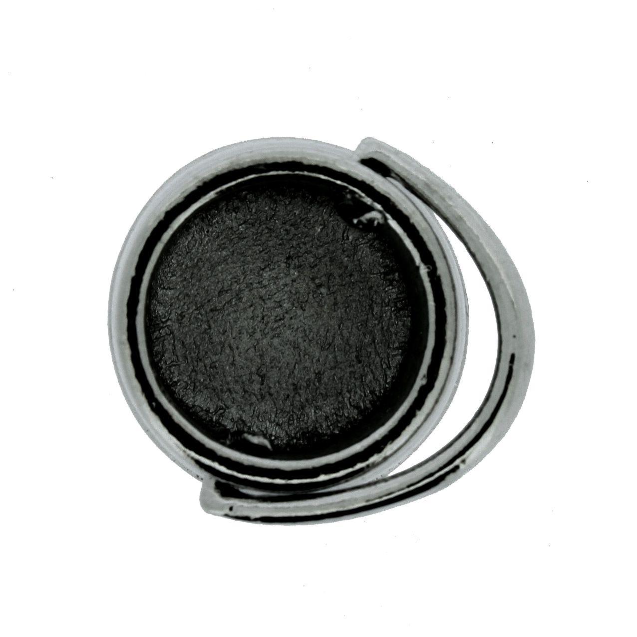 Caldeirão de Bruxa - Grafite - 24mm  - Stéphanie Bijoux® - Peças para Bijuterias e Artesanato