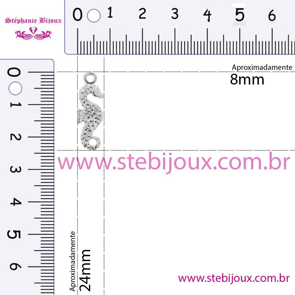 Cavalo Marinho - Dourado - 24mm  - Stéphanie Bijoux® - Peças para Bijuterias e Artesanato