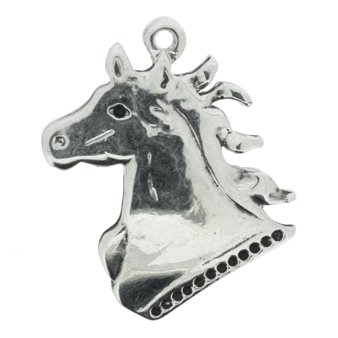 Cavalo - Níquel - 30mm  - Stéphanie Bijoux® - Peças para Bijuterias e Artesanato