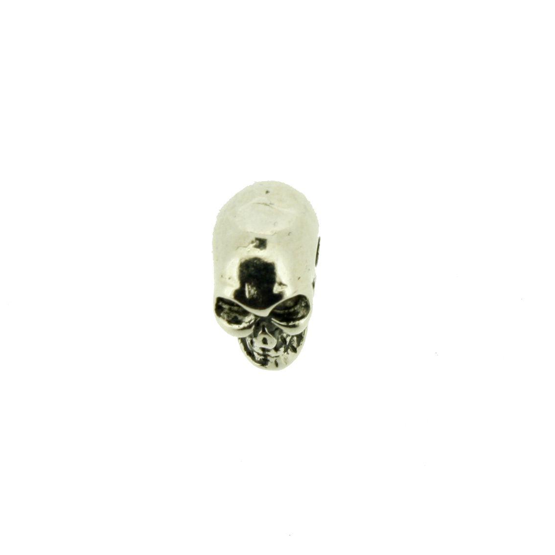 Caveira - Níquel - 13mm - 01 Peça  - Stéphanie Bijoux® - Peças para Bijuterias e Artesanato