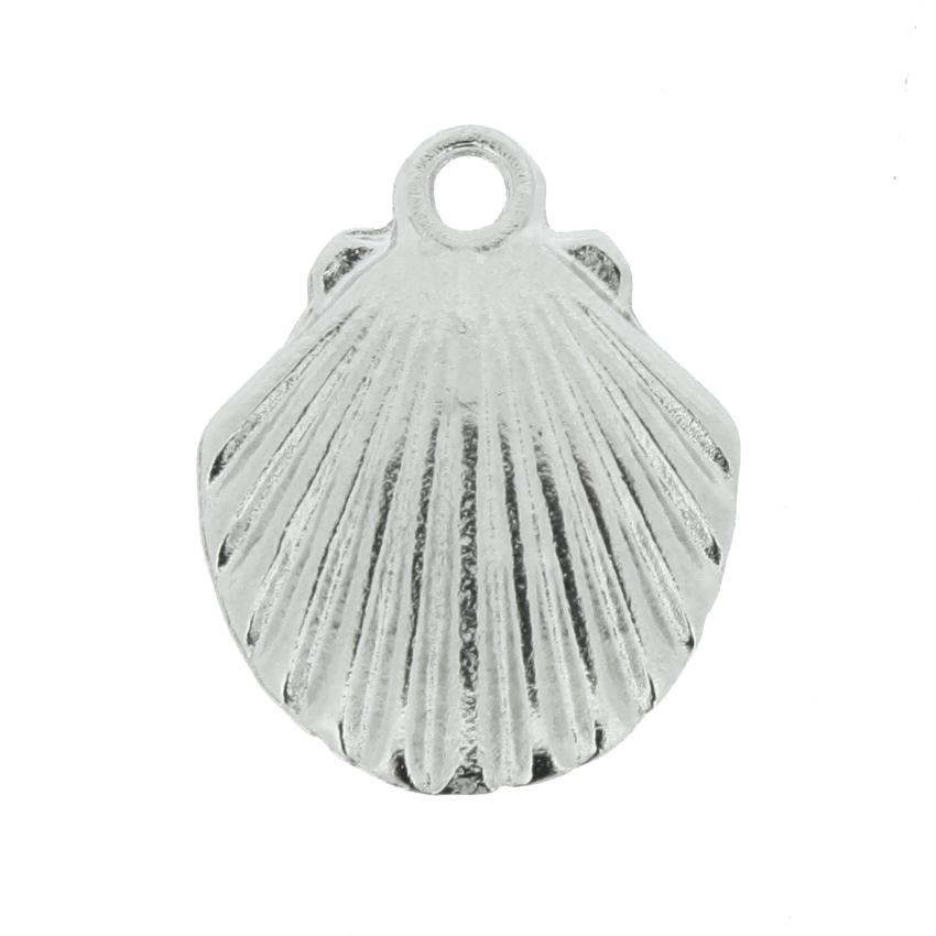 Concha - Níquel - 17mm  - Stéphanie Bijoux® - Peças para Bijuterias e Artesanato
