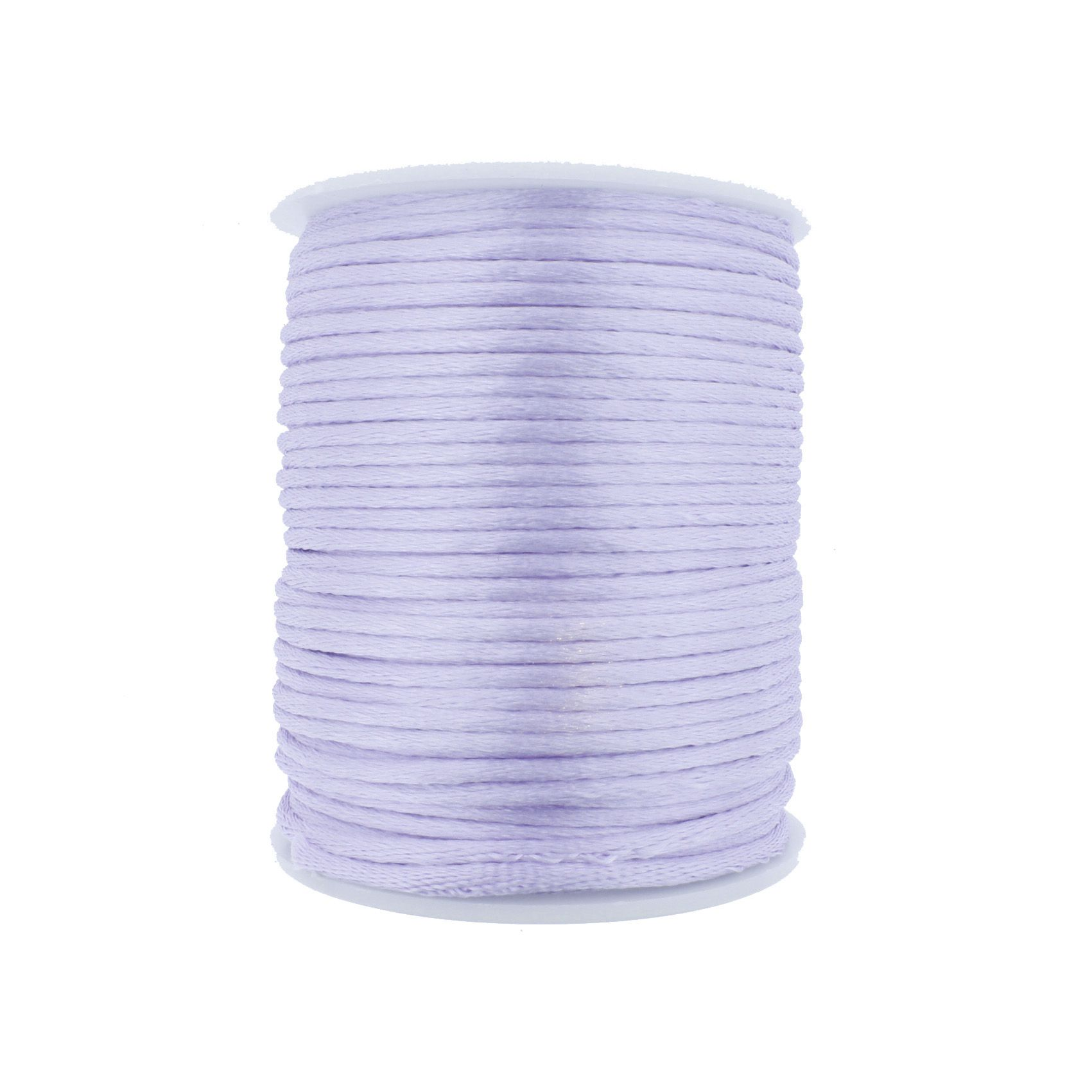 Cordão de Seda - Lavanda - 2mm  - Stéphanie Bijoux® - Peças para Bijuterias e Artesanato