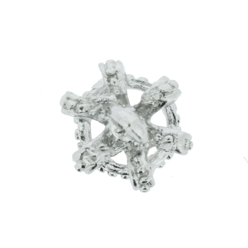 Coroa - Níquel - 14mm  - Stéphanie Bijoux® - Peças para Bijuterias e Artesanato