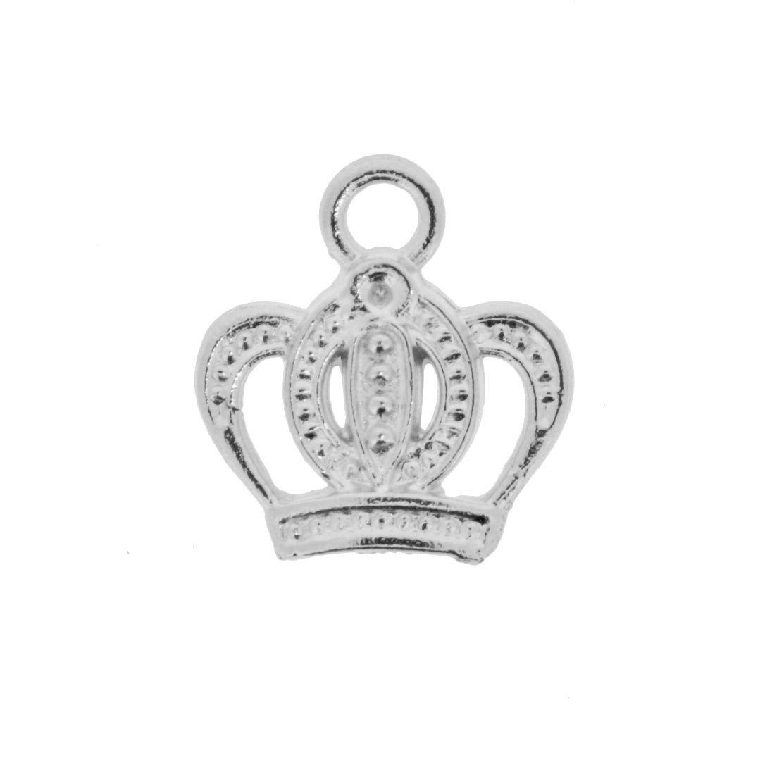 Coroa - Níquel - 17mm  - Stéphanie Bijoux® - Peças para Bijuterias e Artesanato