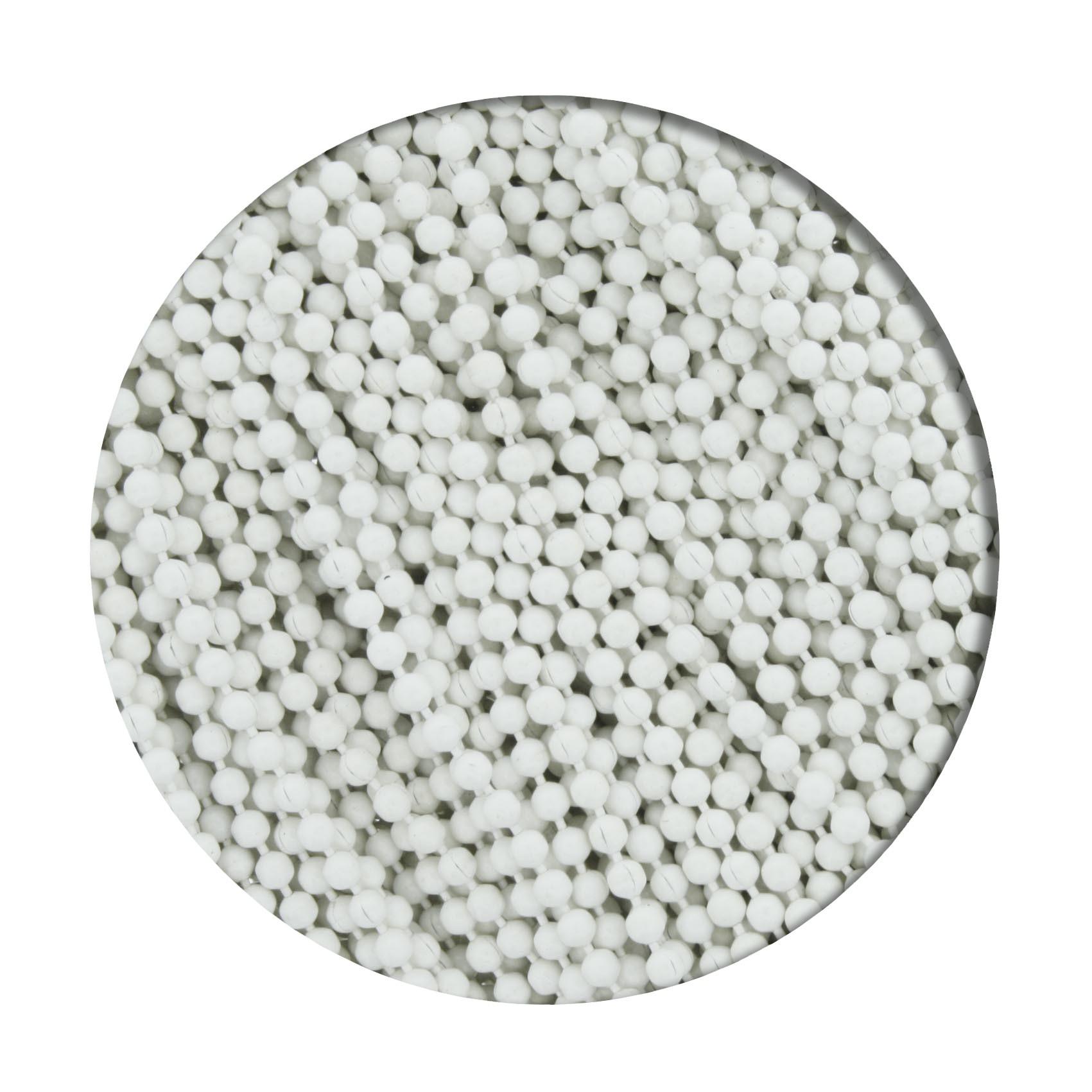 Corrente de Bolinha - 1,5mm - Branca  - Stéphanie Bijoux® - Peças para Bijuterias e Artesanato