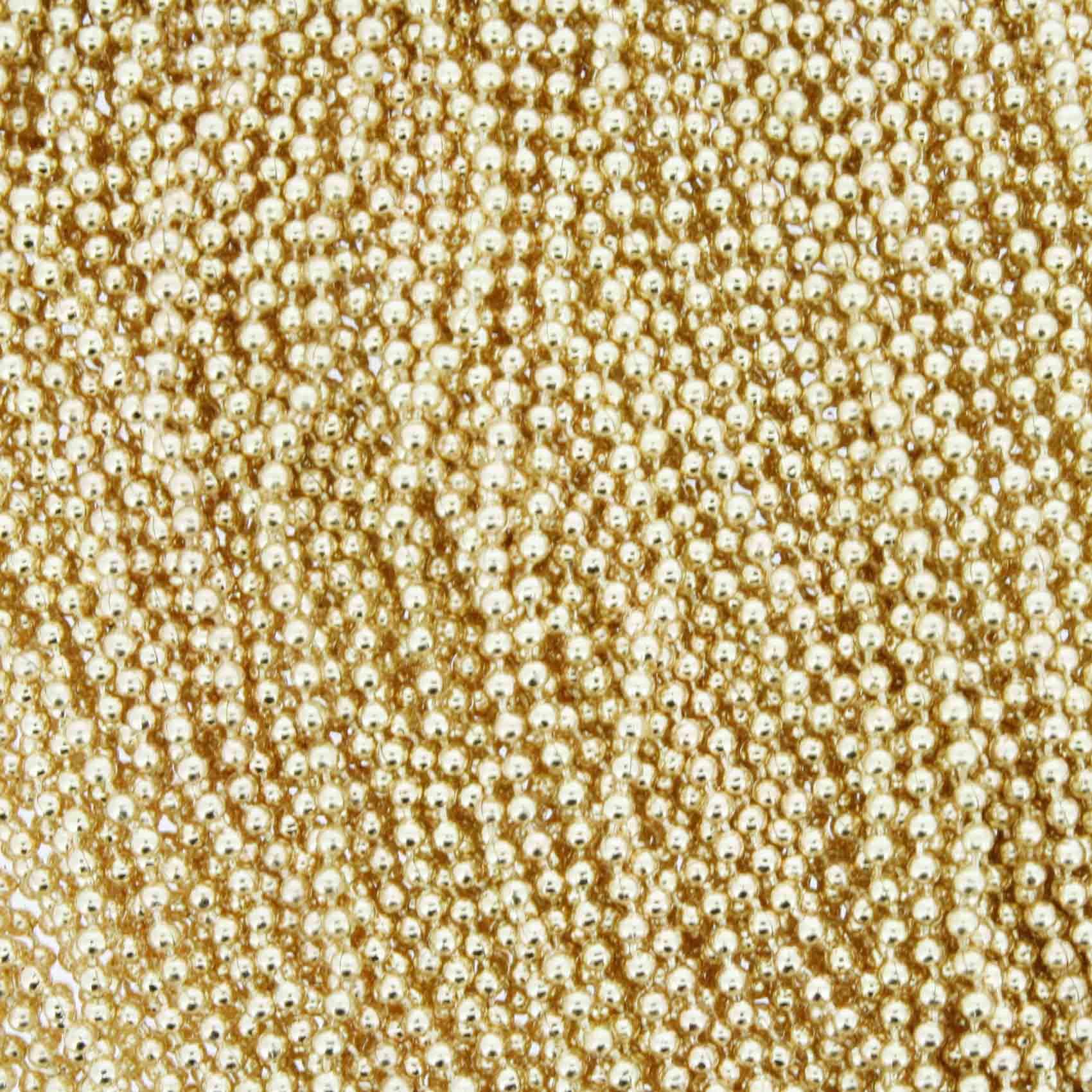 Corrente de Bolinha - 1,5mm - Dourada  - Stéphanie Bijoux® - Peças para Bijuterias e Artesanato