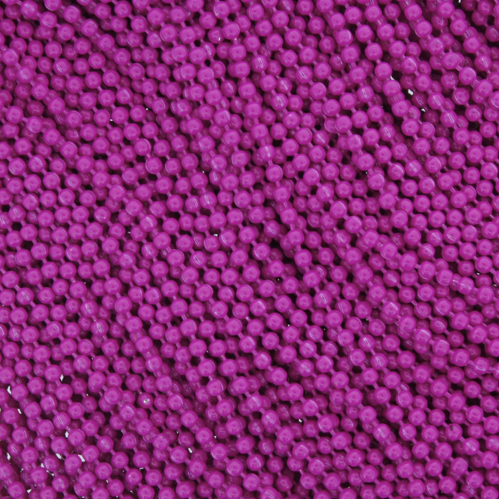 Corrente de Bolinha - 1,5mm - Magenta  - Stéphanie Bijoux® - Peças para Bijuterias e Artesanato